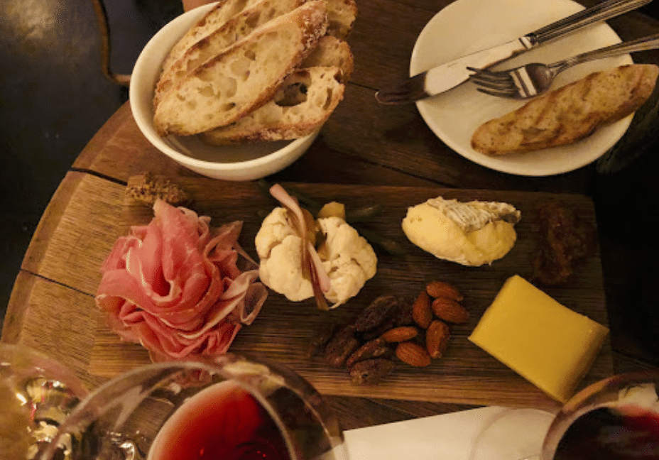 cheese and charcuterie from Archive