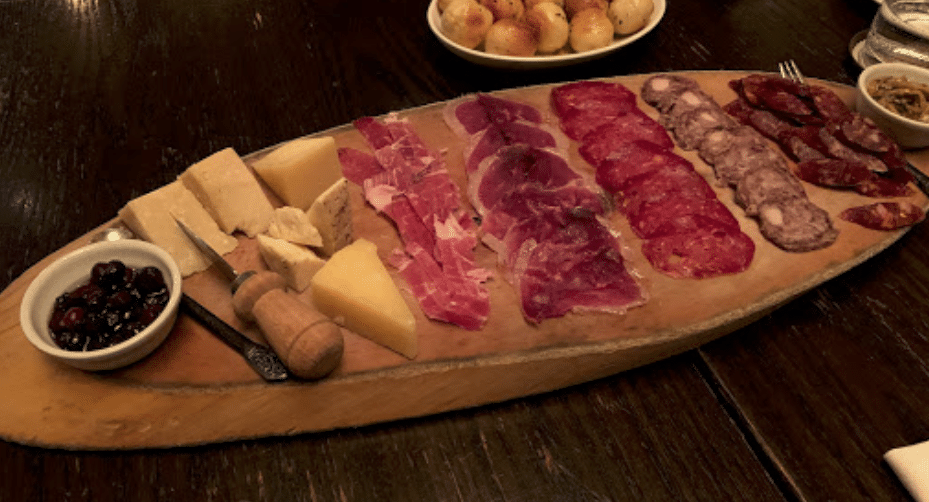 Buca, cured meat, fine cheese and wine