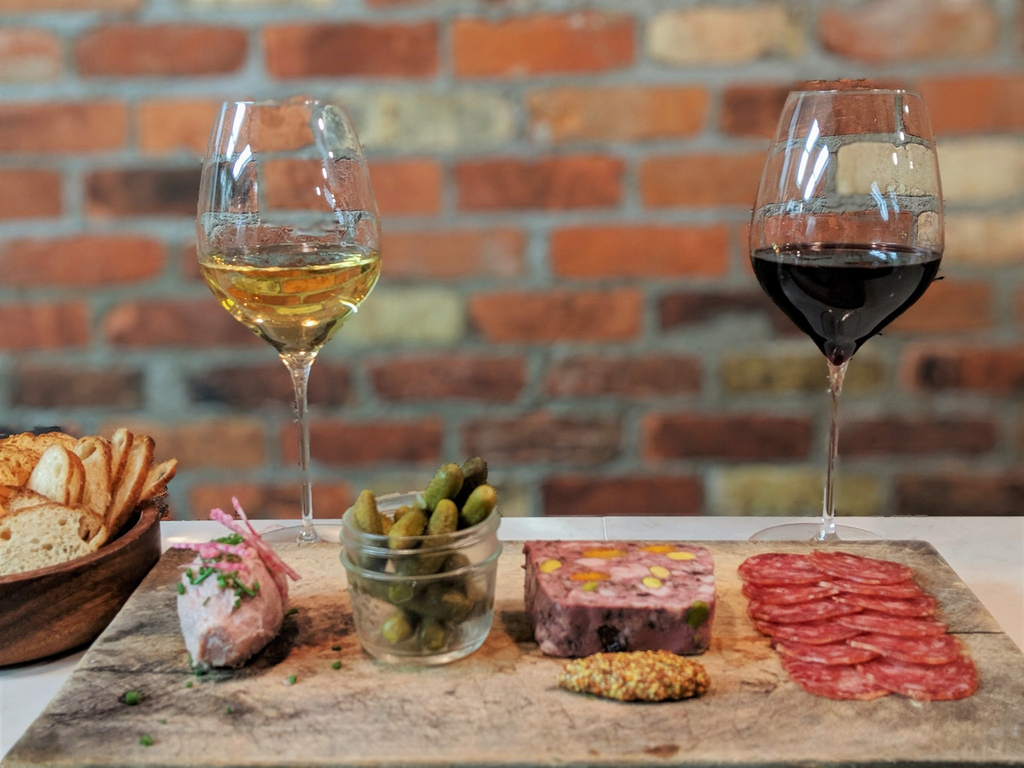 cheese and charcuterie from Grand Cru Deli